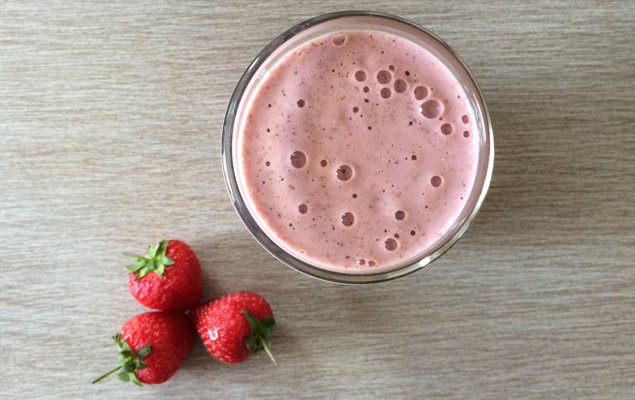 My go-to berry smoothie